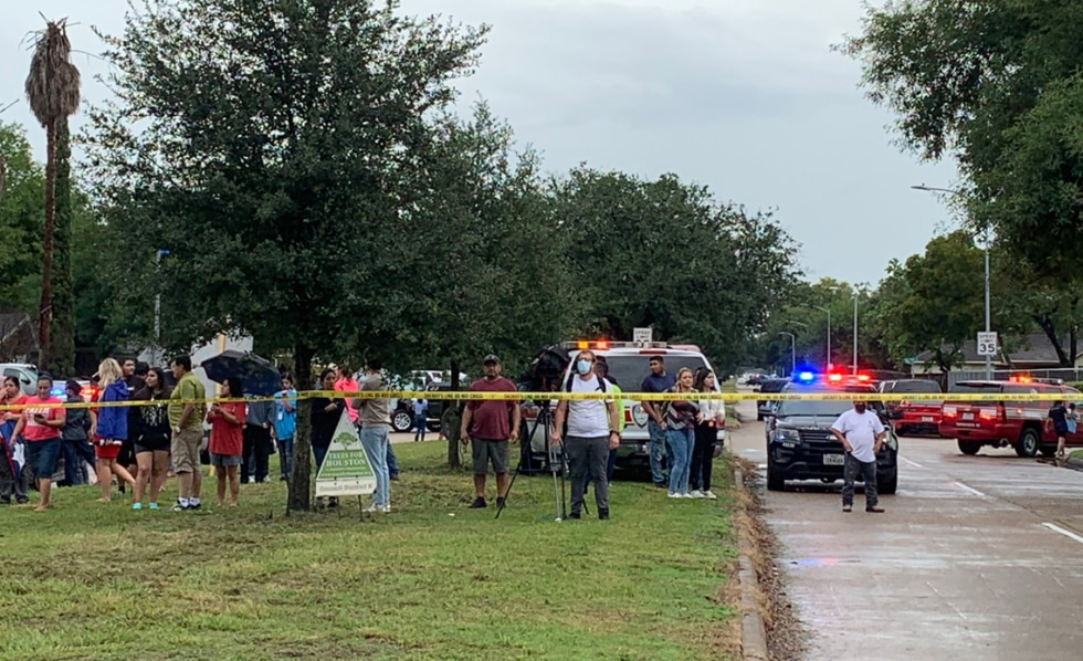 Houston Police and several other law enforcement agencies are responding to reports of an...