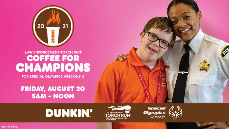 Dunkin' locations across Wisconsin will host the 9th annual Coffee for Champions even Friday,...