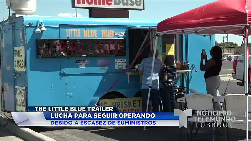 """""""The Little Blue Trailer"""" lucha para seguir operando debido a escasez de suministros"""